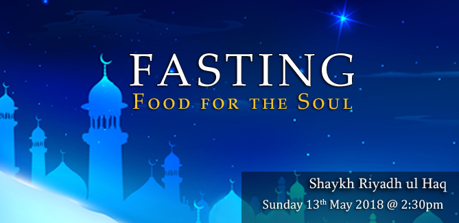 Fasting: Food for the Soul