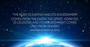 Nourishment of the soul