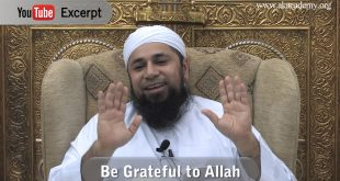 Grateful to Allah