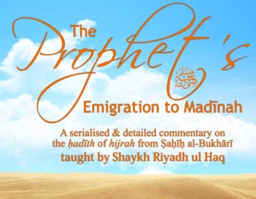Prophets Emigration