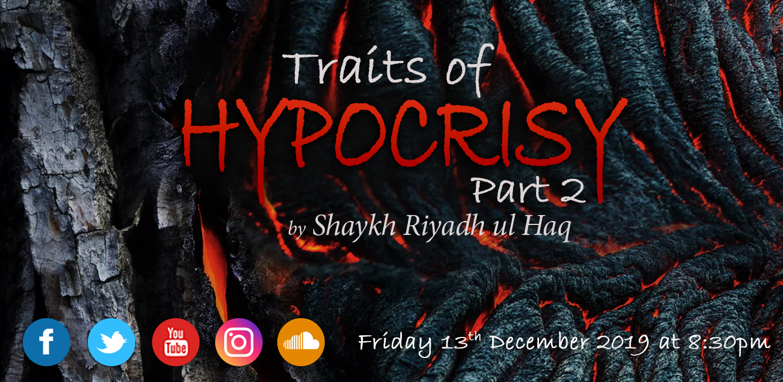 Traits of Hypocrisy Part 2