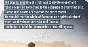 Ramadan 2020 Day 3