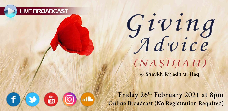 Giving Advice (Nasihah)